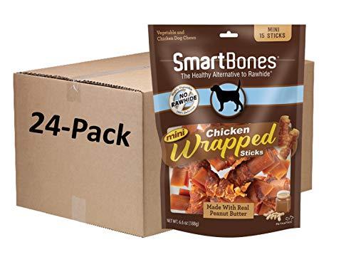 Smartbones Chicken Wrap Mini with Peanut Butter
