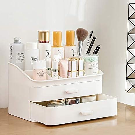 RUIOOY Multifuncional Maquillaje Organizador Cajas de presentación ...