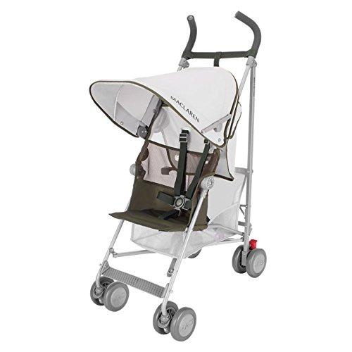 Maclaren Volo Stroller, Silver/ Highland Green by Maclaren