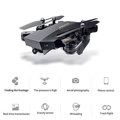 Littleice L900 Foldable RC Drone 2.4G Remote Control FPV Wifi 0.3/2/5MP HD Camera Altitude Hold Quadcopter Recordable Drone (5.0MP Camera)