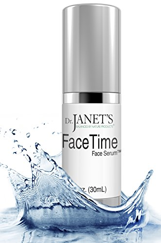 Vitamin C Serum for Face - Hyaluronic Acid for Face Eyes & Neck - Best Natural Anti Aging Serum by Dr. Janets Balanced By Nature - 1 oz