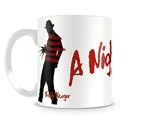 Officially Licensed A Nightmare On Elm Street Coffee Mug]()