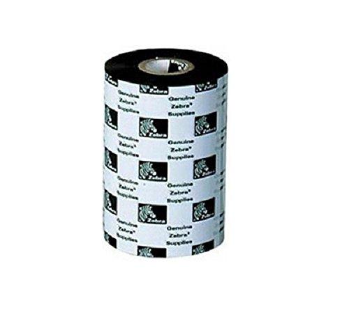 (Zebra 03200GS08407 Thermal Transfer Wax/Resin Ribbon (3.3