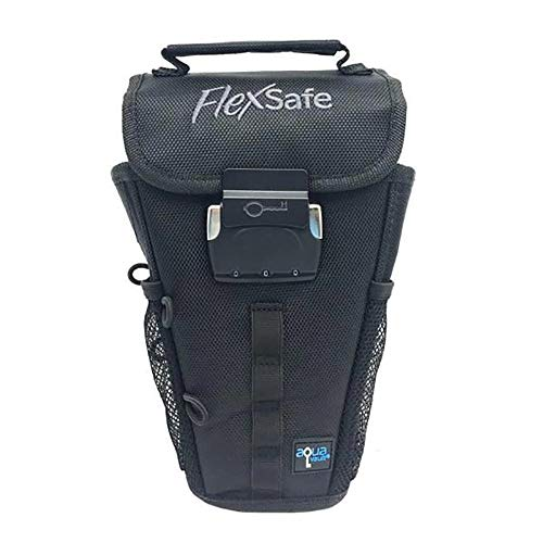 FlexSafe by AquaVault (As Seen on Shark Tank): Anti-Theft Portable Beach Chair Safe and Travel Vault. Packable, Lightweight & Slash Resistant. Use at the Beach, Pool, Waterpark, Cruise Ship, More. (Best Shower Hooks Ever)