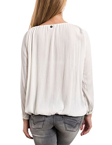 Blouse Blanc White 1041 Wei Timezone Cloud Femme Tunika ft5qxtwPA