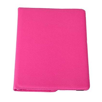 DETUOSI 360/°Rotation Housse en Cuir pour Apple iPad 2//iPad 3//iPad 4 Coque Housse de Protection Etui Smart Cover Case avec Rabat//Stand de positionnement Support Noir