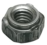 "1/2""-13 Standard Pilot 3 Projection Hex Weld Nut, Pack of 10"
