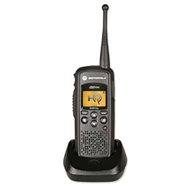 Motorola DTR550 Digital On-Site Two-Way Radio Black