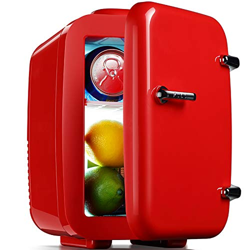 LQFLD Mini Nevera,Refrigerador Personal Compacto y portátil Que se ...