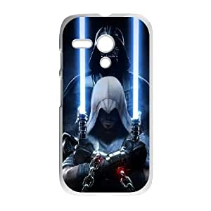 Motorola Moto G Phone Case White Star Wars HDS325375
