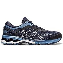 ASICS Men's Gel-Kayano 26 Running Shoes, 10.5M, Midnight/Grey Floss