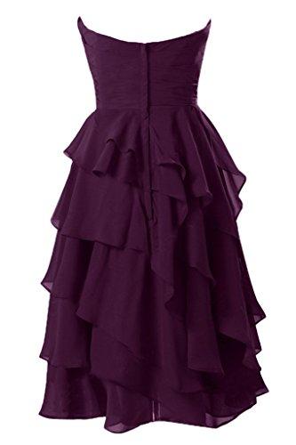 Vimans -  Vestito  - linea ad a - Donna Grape 46