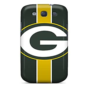 S.N.H Case Cover Protector Specially Made For Galaxy S3 Green Bay Packers