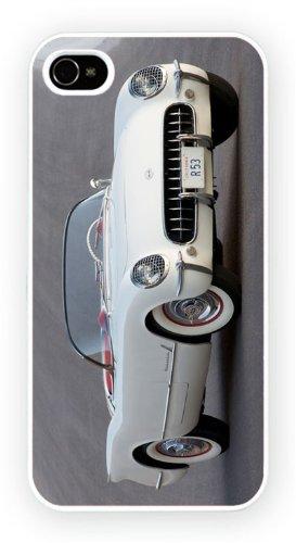 Chevrolet Corvette C1 White 53, iPhone 5 5S, Etui de téléphone mobile - encre brillant impression