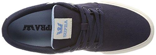 Navy Vulc white Supra Sneaker Aquifer II Stacks wxIfa