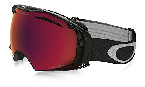 Oakley Airbrake Prizm Goggles - Jet Black-Prizm Torch Iridium + Bonus Lens/Full - Snow Airbrake Goggles Oakley