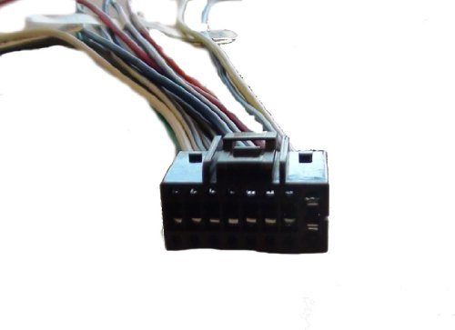 412ceMbT75L amazon com kenwood wire harness kdchd548u kdcx395 kdcx695 kdcx696 kenwood kdc-355u wiring harness at bakdesigns.co