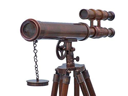 床置きアンティーク銅グリフィスAstro望遠鏡45