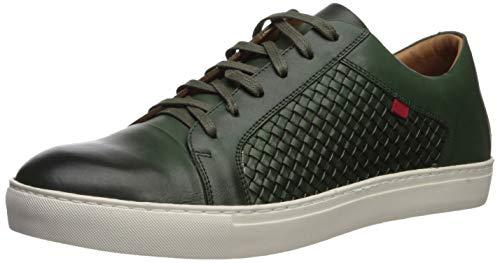 MARC JOSEPH NEW YORK Mens Geuine Leather Waverly Street Criss Cross Sneaker