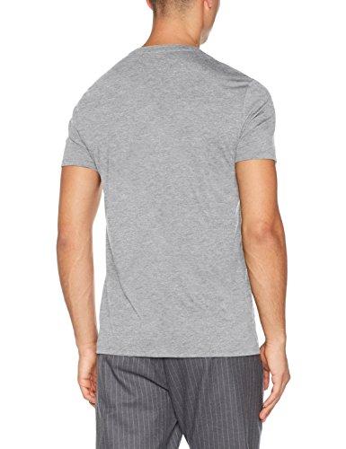 T Gris Lacoste Chine shirt Homme Th6710 argent zx4qU