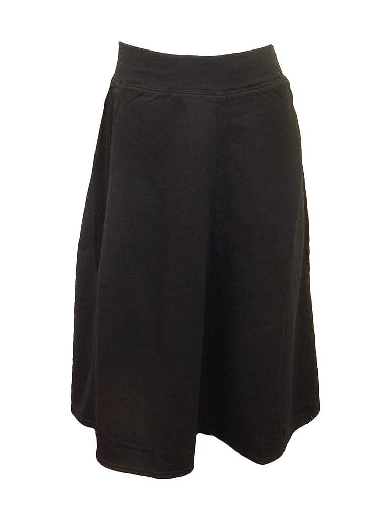 Image of Active Skirts Hard Tail Forever Women's Knee Length Satin Racer Stripe Skirt, Flat Waistband Style SMF-42
