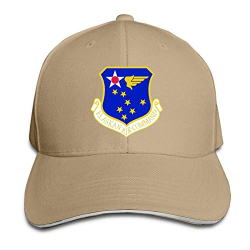 Classic Alaskan Air Command Subdued Patch Baseball Caps Adjustable Sandwich Baseball -