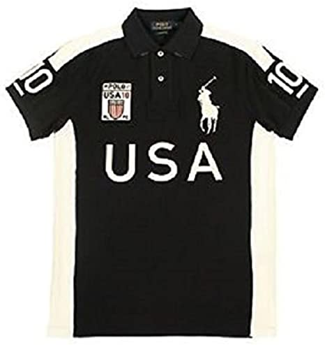 Ralph Lauren camisa de Estados Unidos Polo para hombre: Amazon.es ...