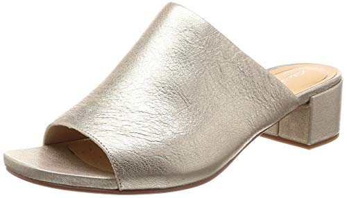 Clarks Mules Daisy Para Champagne Orabella gold Mujer Zr1qZT