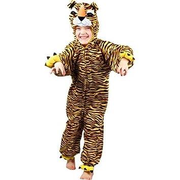 5f121806be Tiger Animal Kids Fancy Dress Jungle Costume