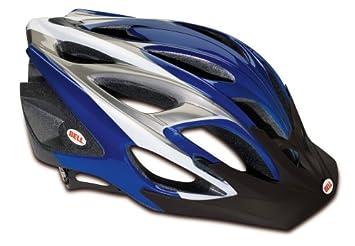 Bell Casco para bicicleta de afluencia, Blue/Titanium