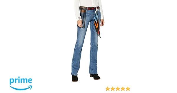 Desigual Denim_Jayne Pantalones Vaqueros Bootcut para Mujer ...