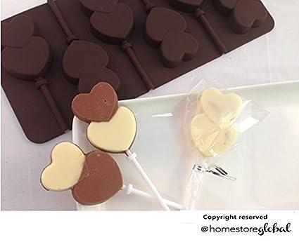 HomeStore Global, Conjunto de regalo de vacaciones de verano de Regalo piruleta de chocolate molde