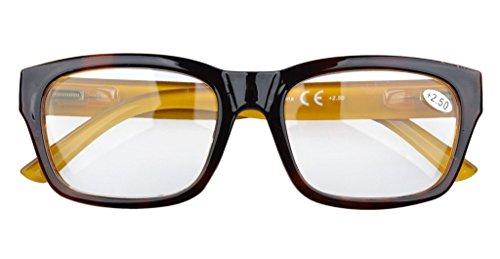 caoutchouc Eyekepper soleil de 00 lunettes 1 bifocales Marron peint lunettes Gris Xqx7Bn4wXr
