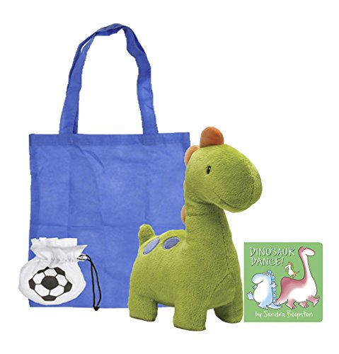 Nursery Rhyme Character Costumes For Kids (Baby Ugg Dinosaur Baby Stuffed Animal | Plush Stuffed Animal Toy with Dinosaur Dance! Board Book | Board Book and Toy Combo | With Reusable Blue Tote Bag)