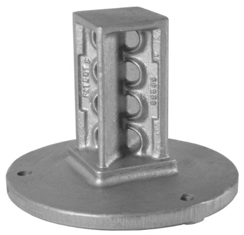 Designovations Inc. S200S SNAP'n SAFE Surface Mount Breakaway Square Sign Post Coupler for 2 Inch Sign Post Size by SNAP'n SAFE