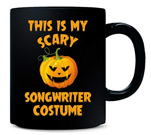 This Is My Scary Songwriter Costume Halloween Gift - -