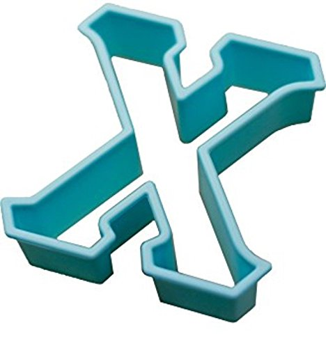 Live Greek - Greek cookie cutter - Chi (3 x 2.75 Inches) (Party Supplies Burlington)