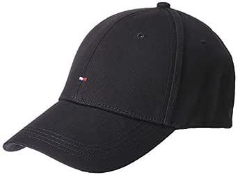 Tommy Hilfiger Men's Classic Baseball Cap, Flag Black, ONE