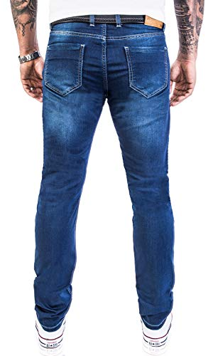 M21 Rock Coupe Bleu Jeans Jeans Designer Denim 2115 w40 Creek Basic Pantalons stretch Homme W29 Slim Rc 7qp7r