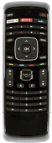 (New Xrv1tv 3d Tv Remote Control with Keyboard fit for vizio smart internet LCD LED TV)
