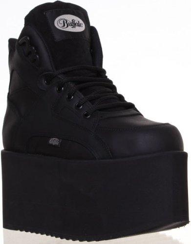 Buffalo Sneakers con suola rialzata - Nero Sneakernews Línea Barata Guay t3oj73S9