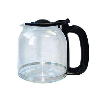 ximoon 12 tazas, jarra de vidrio para cafetera de Oster bvst-jbxss41, bvstjbxss41, número de pieza 154448 - 000 - 000: Amazon.es: Hogar