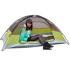 Single camping tents & outdoor double rainproof light tents, 200 * 100cm , 200*100cm