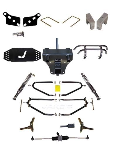 Club Car Precedent Golf Cart 6-10'' Long Travel Lift Kit by Jake's