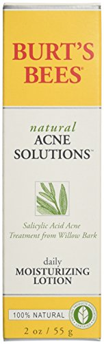 Burt 's Bees Acné Solutions naturel lotion hydratante, 2 oz
