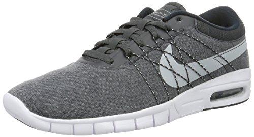 Nike Koston Max, Scarpe da Skateboard Uomo Gris (Anthracite / Wolf Grey-white-black)