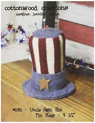 Cottonwood Creations CWC646 Uncle Sam Hat Pin Keep Pattern