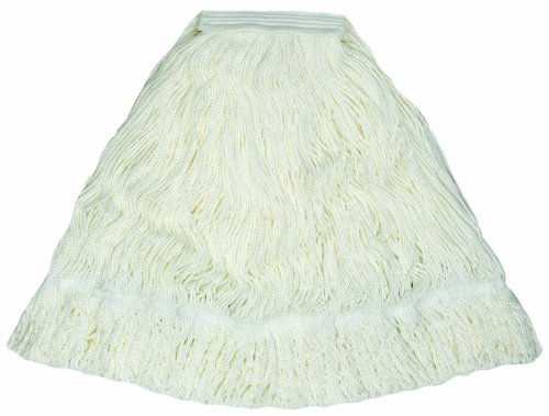 Wilen A03612, Smoothie Finish Mop, Medium, 1-1/4'' Tape Band (Case of 12)