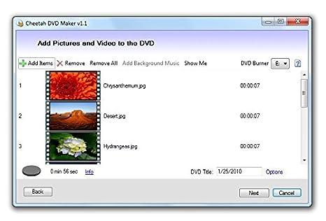 Amazon com: Cheetah DVD Maker [Online Code]: Software