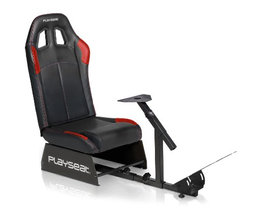 - Playseat Champion Racing Video Game Chair For Nintendo XBOX Playstation CPU Supports Logitech Thrustmaster Fanatec Steering Wheel And Pedal Controllers